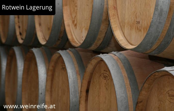 Barrique Fass zur Rotwein Herstellung